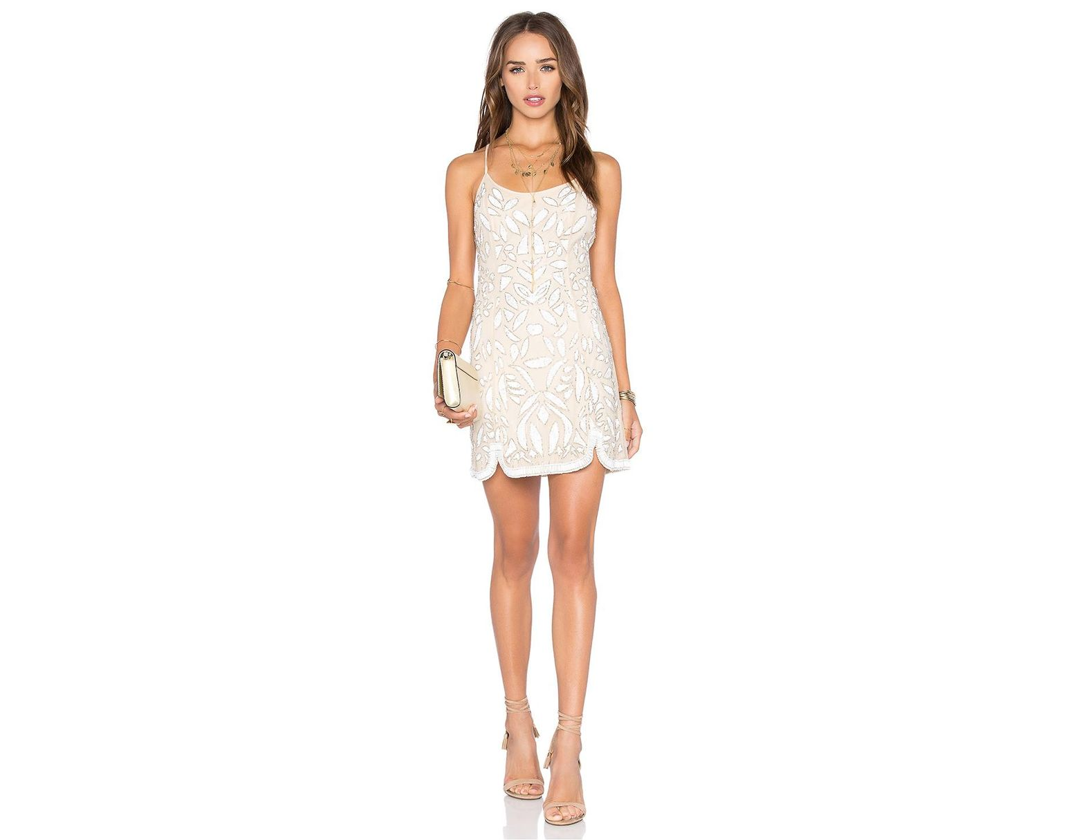 57b96483a512 X By NBD Madeline Dress in White - Save 48% - Lyst