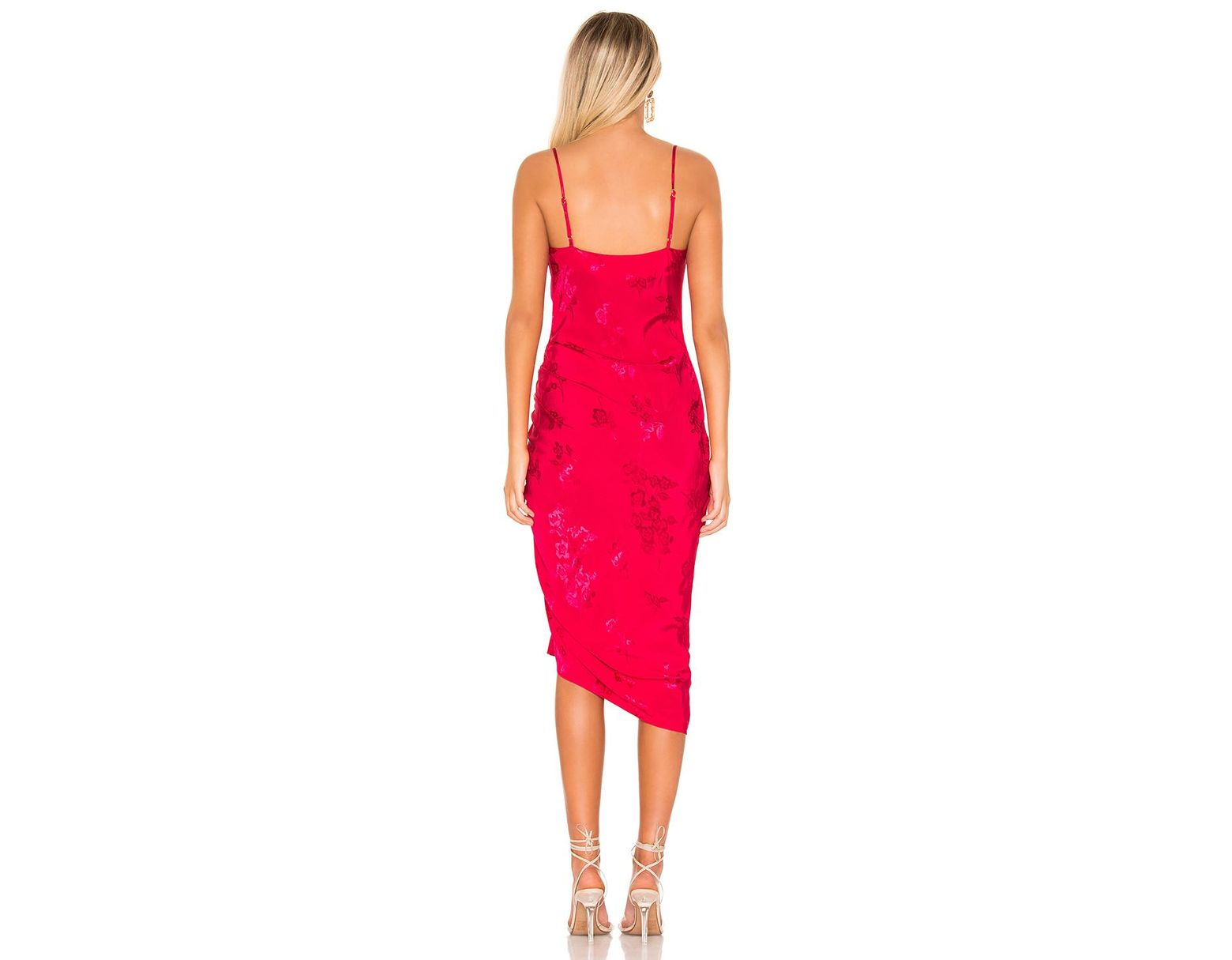 2ebfc3532774 Lovers + Friends Lia Midi Dress in Pink - Lyst