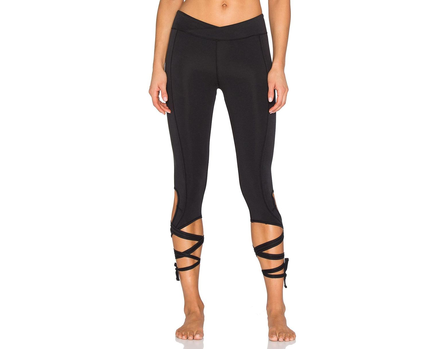 9dd00bc519b023 Free People Movement Turnout Legging in Black - Save 4% - Lyst