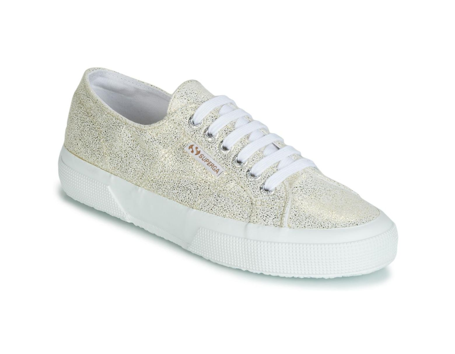 0fb23a3db0894 Superga 2750 Jersey Frost Lame W Shoes (trainers) in Metallic - Lyst
