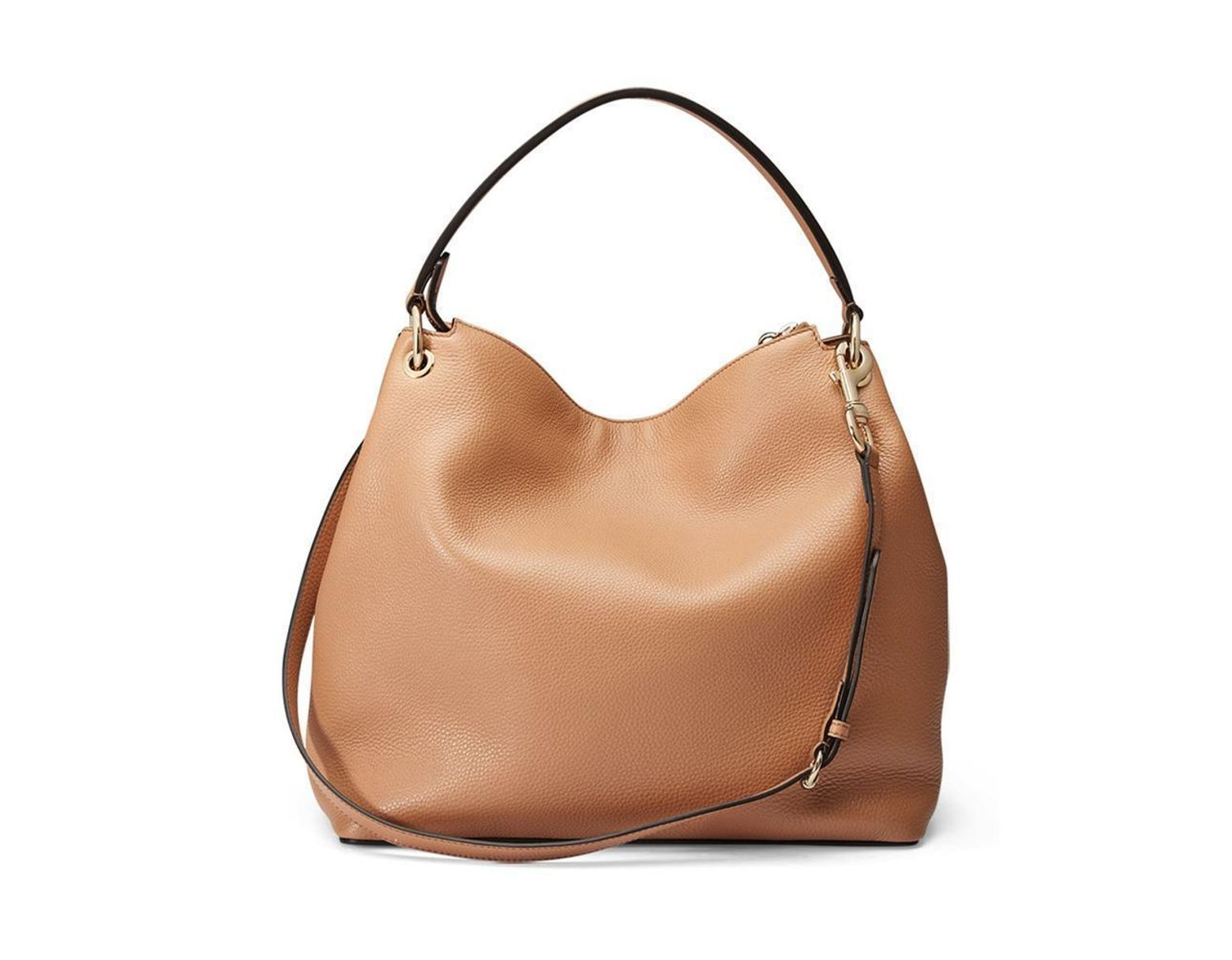 ea0f0c9b54a4 Gucci Soho Large Leather Cellarius Bag, Camelia in Brown - Lyst