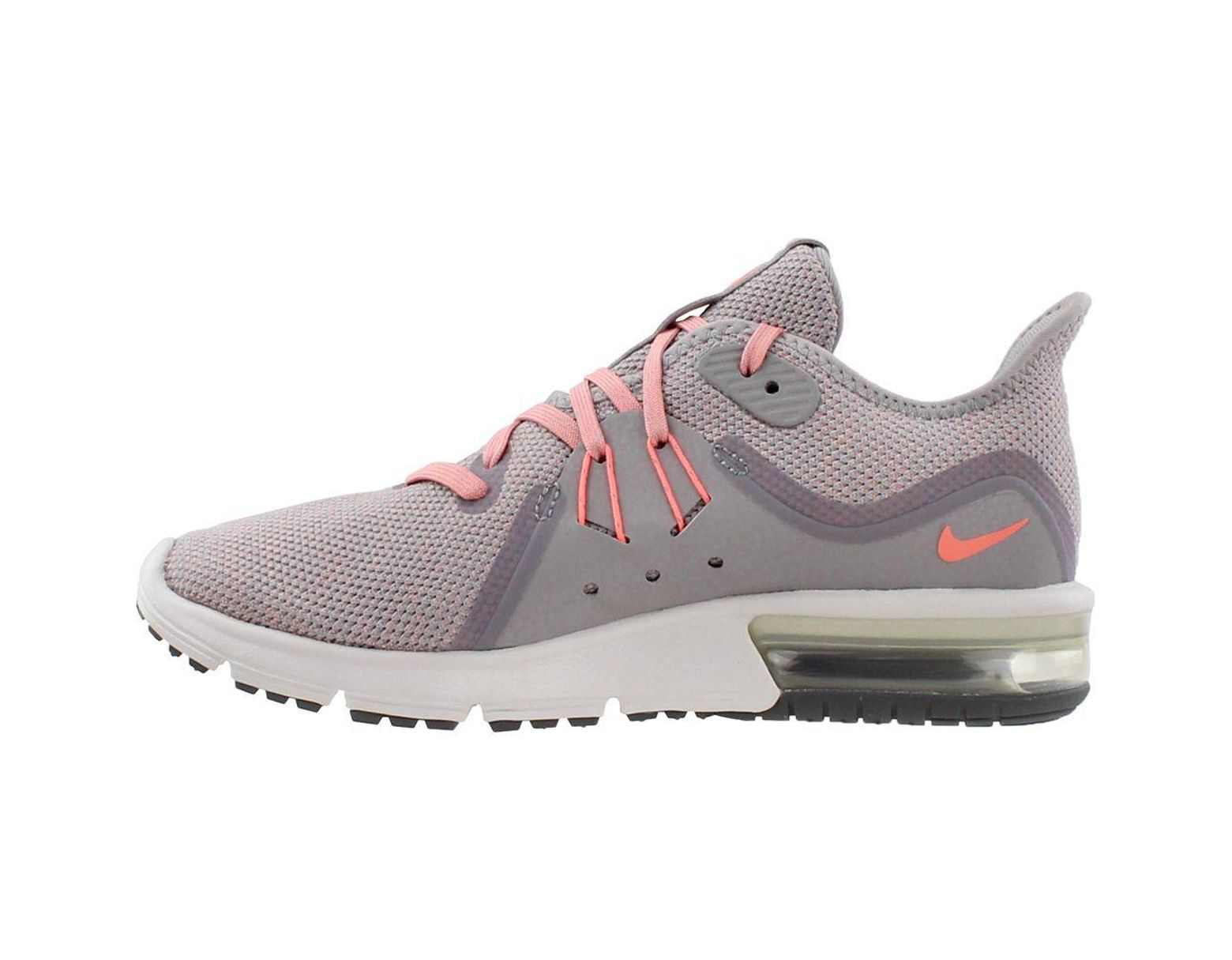 Nike Nike Air Max Sequent 3 (Light CreamCrimson TintWhiteString) Women's Shoes from Zappos | Shop