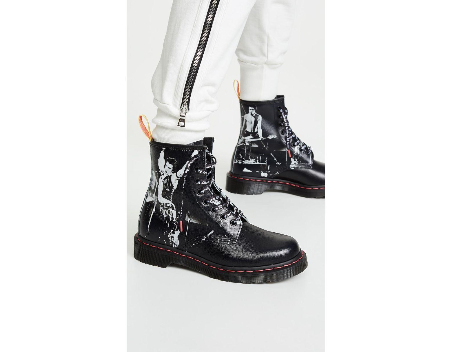 89813f2b Dr. Martens 1460 Sxp 8 Eye Boots in Black - Lyst