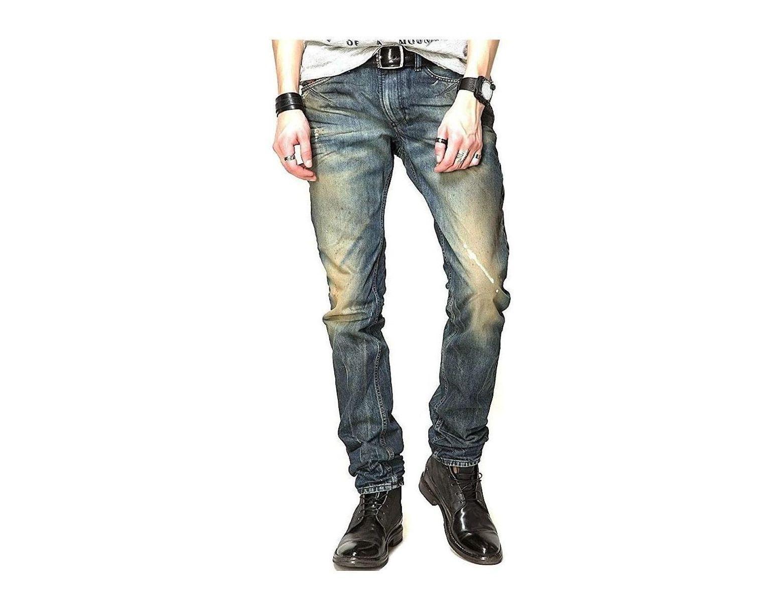 78c259f9 DIESEL - Men's Jeans Shioner 817h - Slim Skinny Men's Skinny Jeans In Blue  in Blue for Men - Lyst