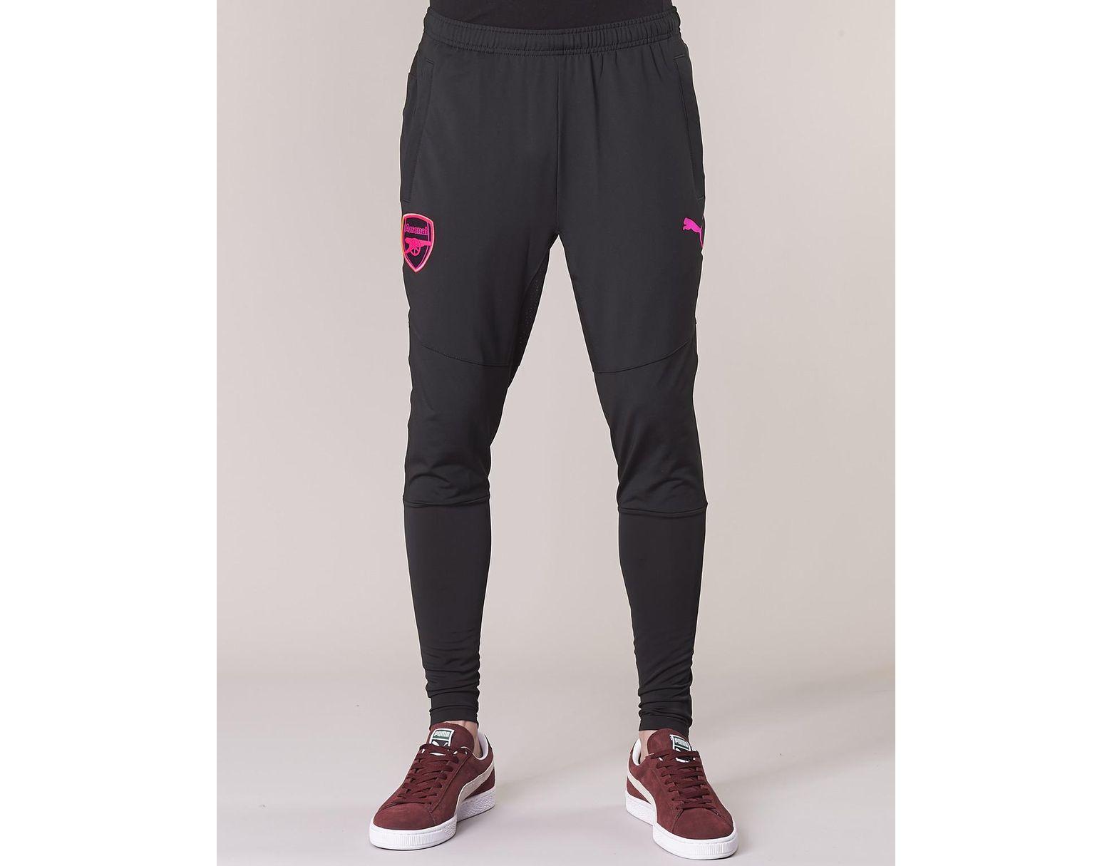 6decd0d60 PUMA Arsenal Fc Stadium Pant Sportswear in Black for Men - Lyst