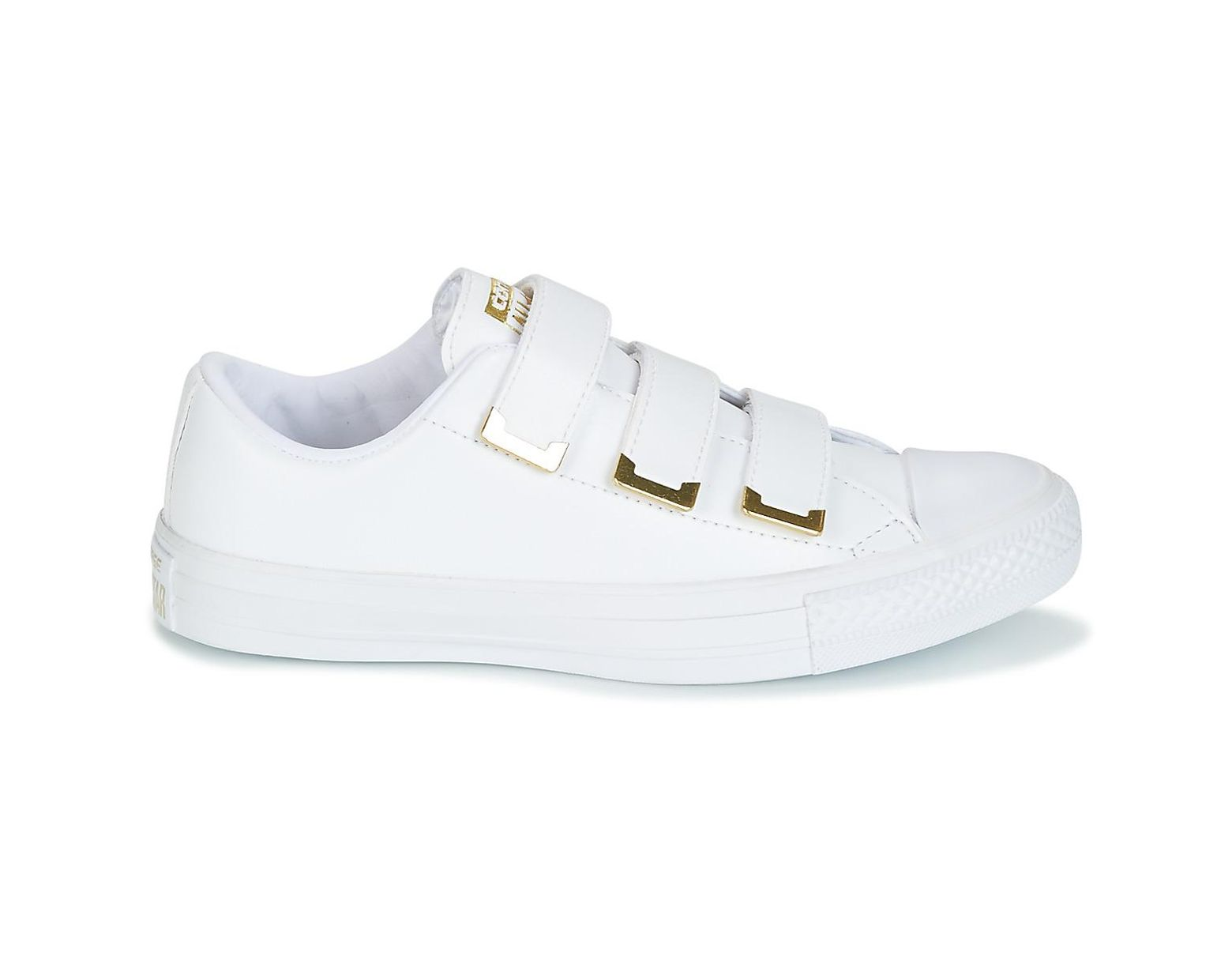 b7883f025b8d12 Converse Chuck Taylor All Star 3v Ox Sl + Hardware Shoes (trainers) in White  - Lyst