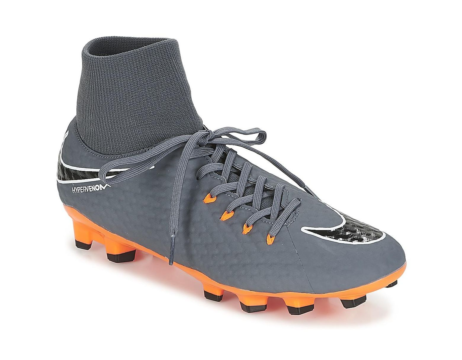 7bd76064b Nike Hypervenom Phantom 3 Academy Dynamic Fit Firm Ground Men's Football  Boots In Grey in Gray for Men - Lyst