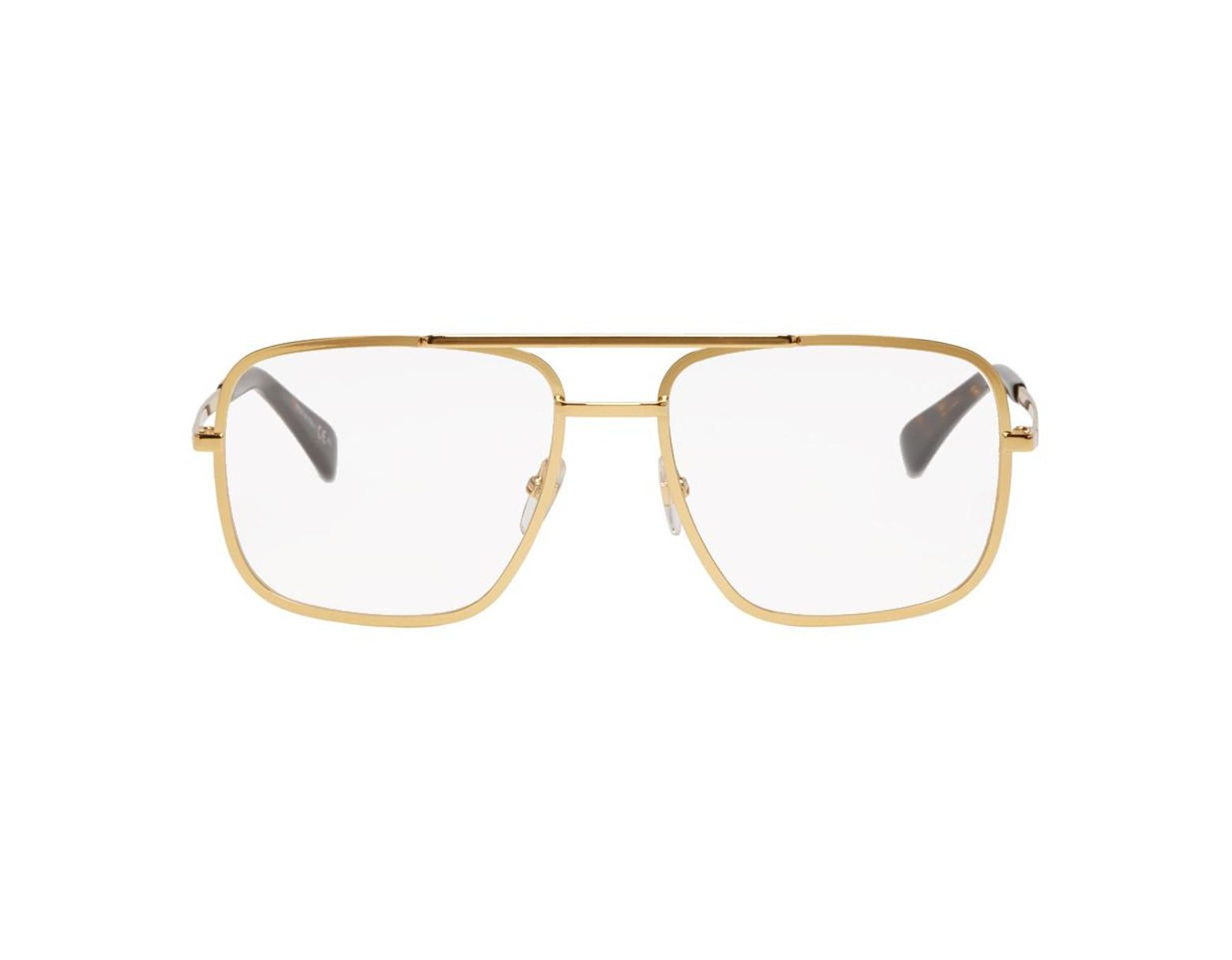 0d195c149526 Givenchy Gold Gv0098 Glasses in Metallic for Men - Lyst