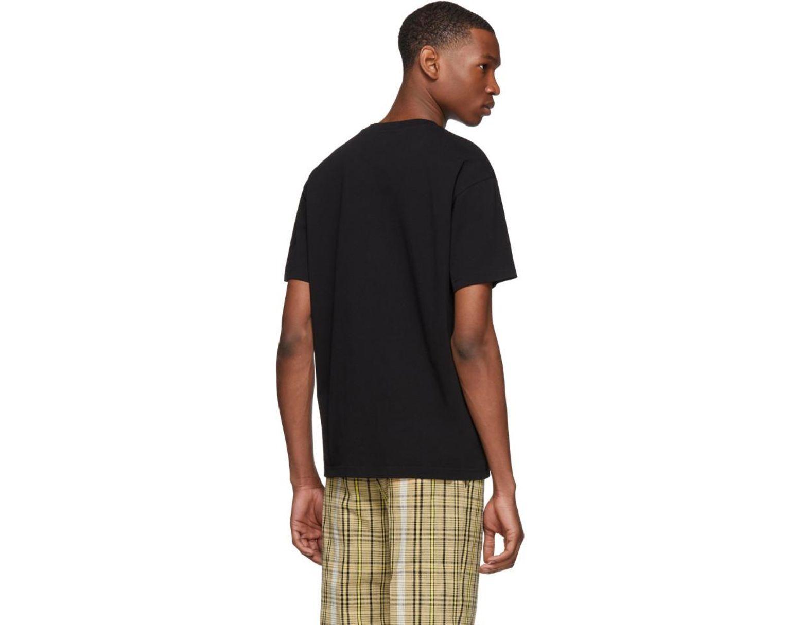 b97f1694 KENZO Black Neon Tiger T-shirt in Black for Men - Lyst