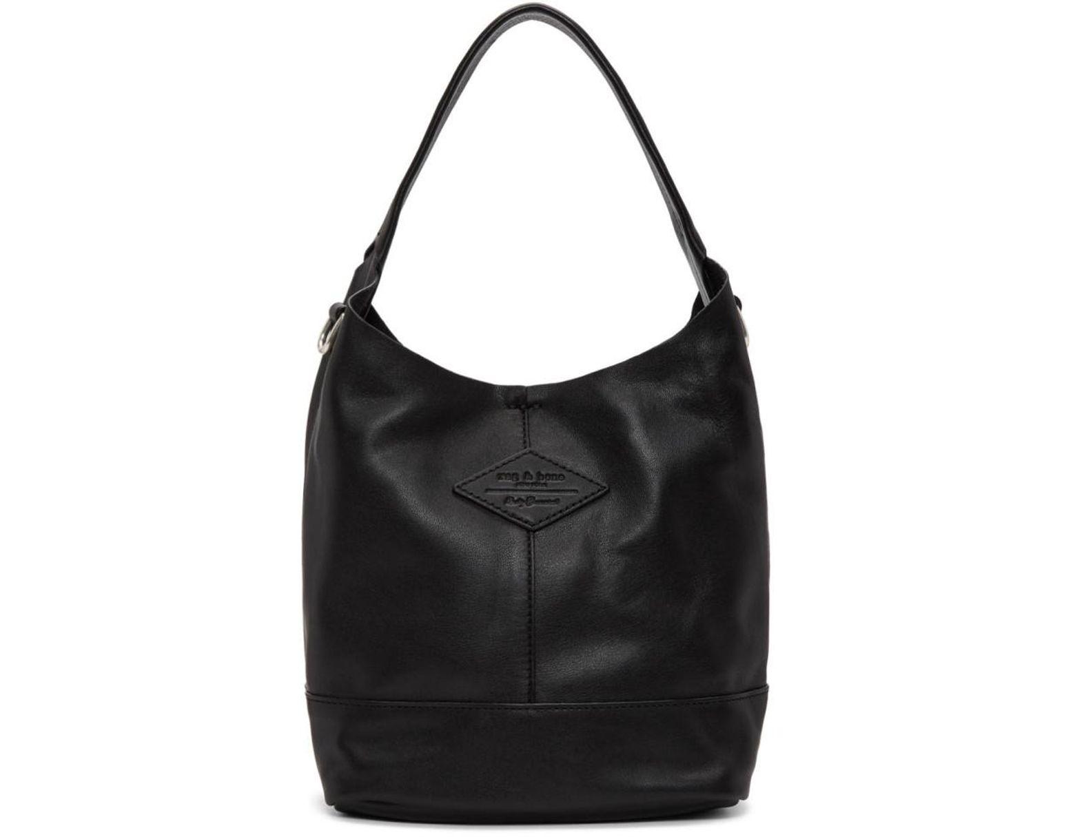 Shopper Sac Mini En Lyst Noir Coloris Ragamp; Camden Bone F3TlJK1c