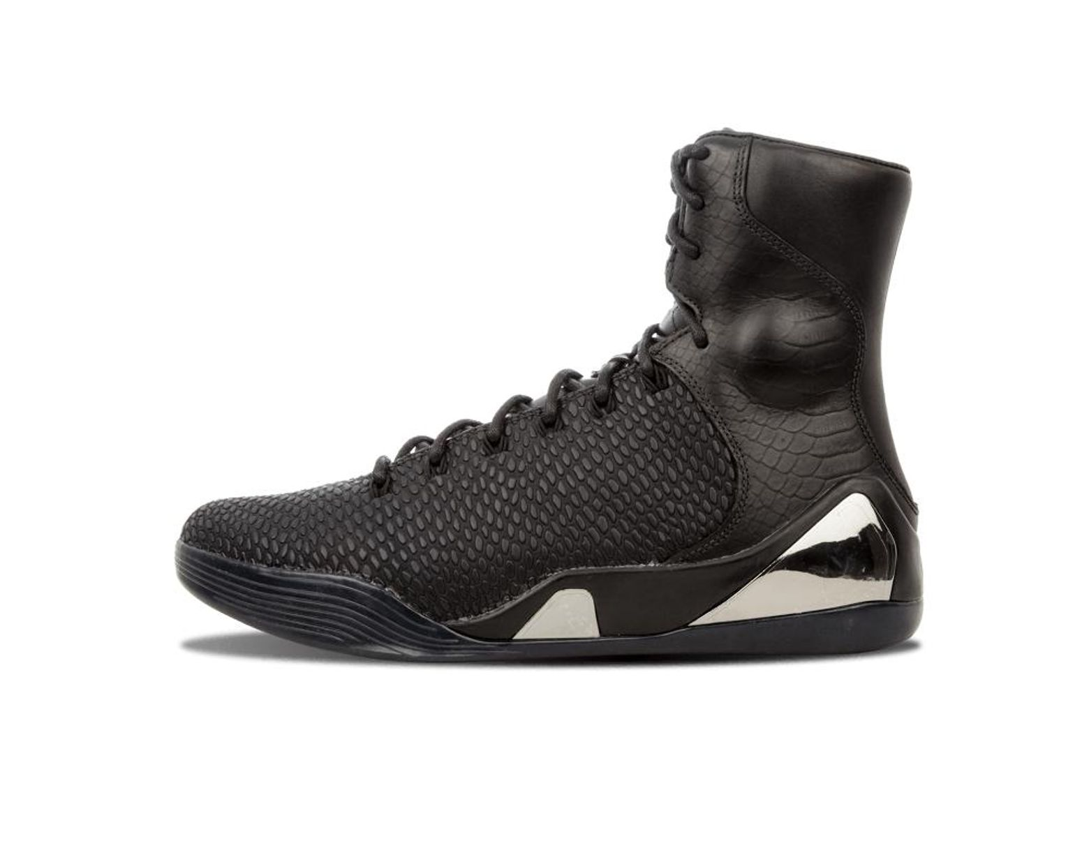 c7f2fabe22585 Men's Black Kobe 9 High Krm Ext Qs