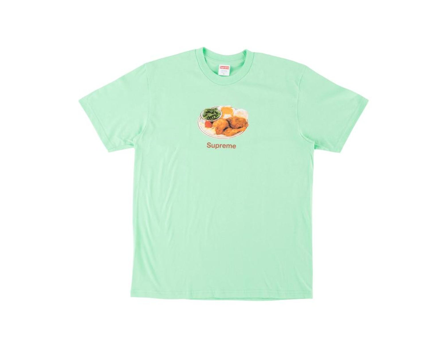 5c78b7c6a3a2 Supreme Chicken Dinner T-shirt 'ss 18' in Green for Men - Save 8% - Lyst