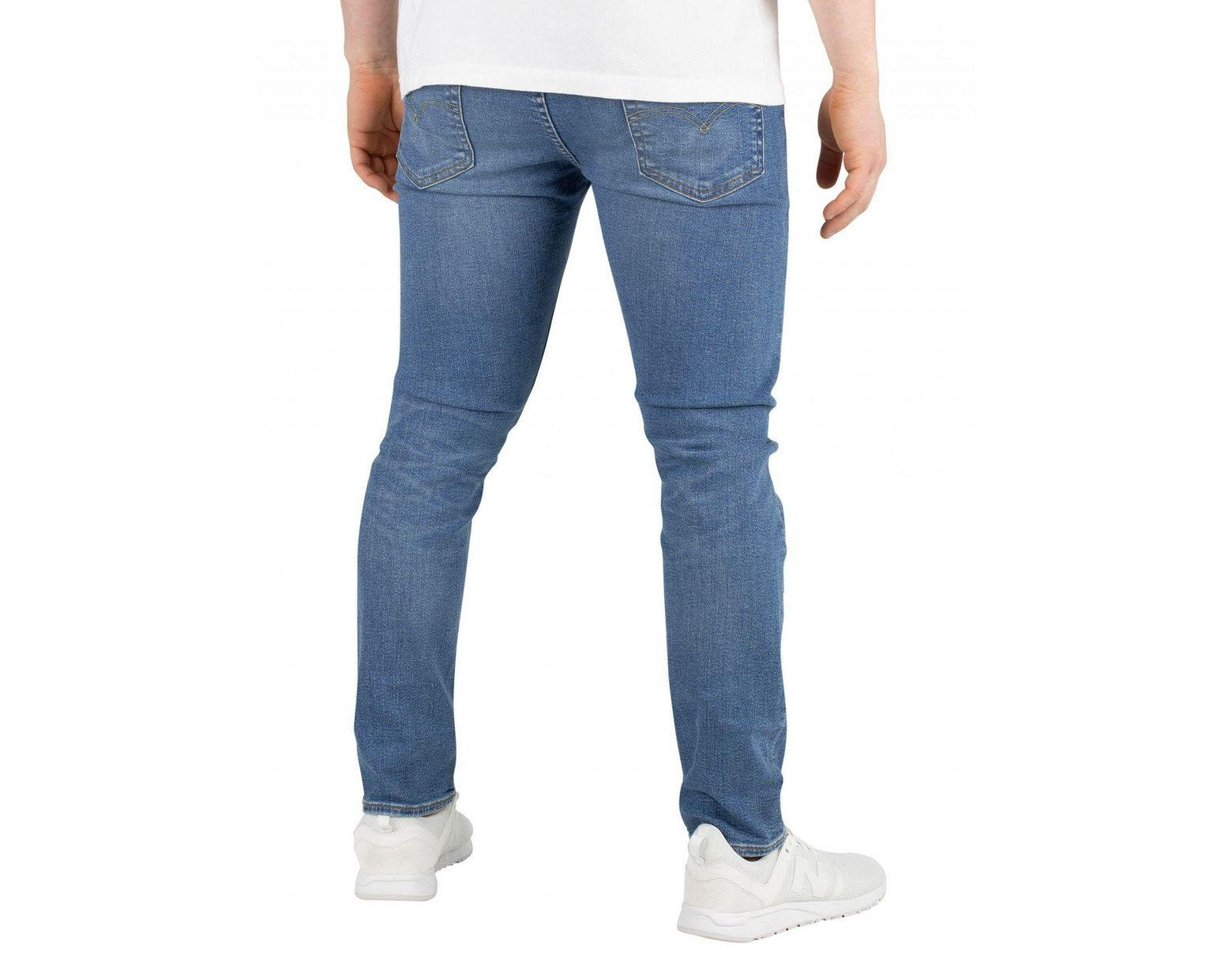 a1c5e004aa6759 Levi's Cedar Light Midtone 519 Extreme Skinny Fit Jeans in Blue for Men -  Lyst