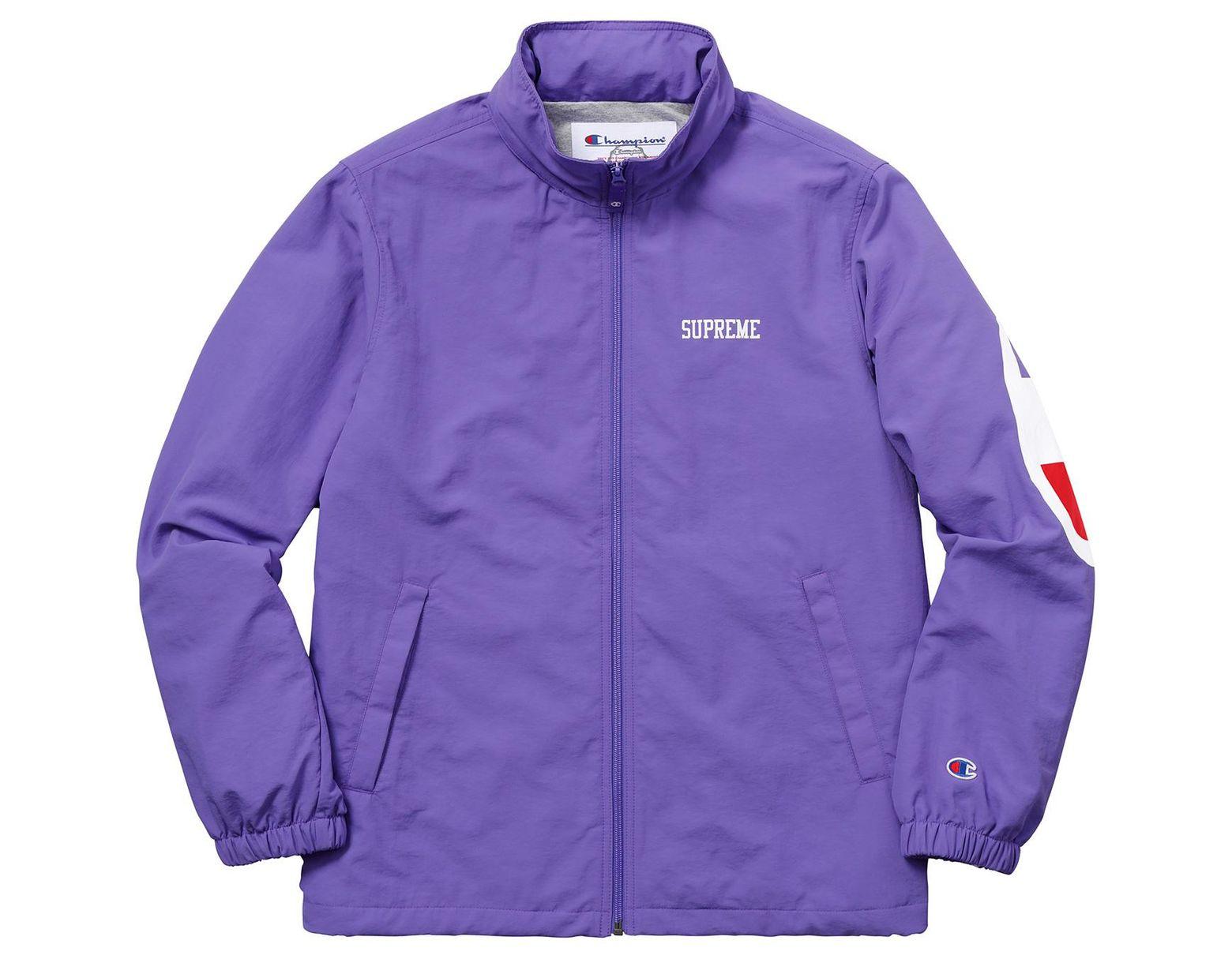 Supreme In Purple Champion Men Lyst Light Jacket For Track 5LRAj4