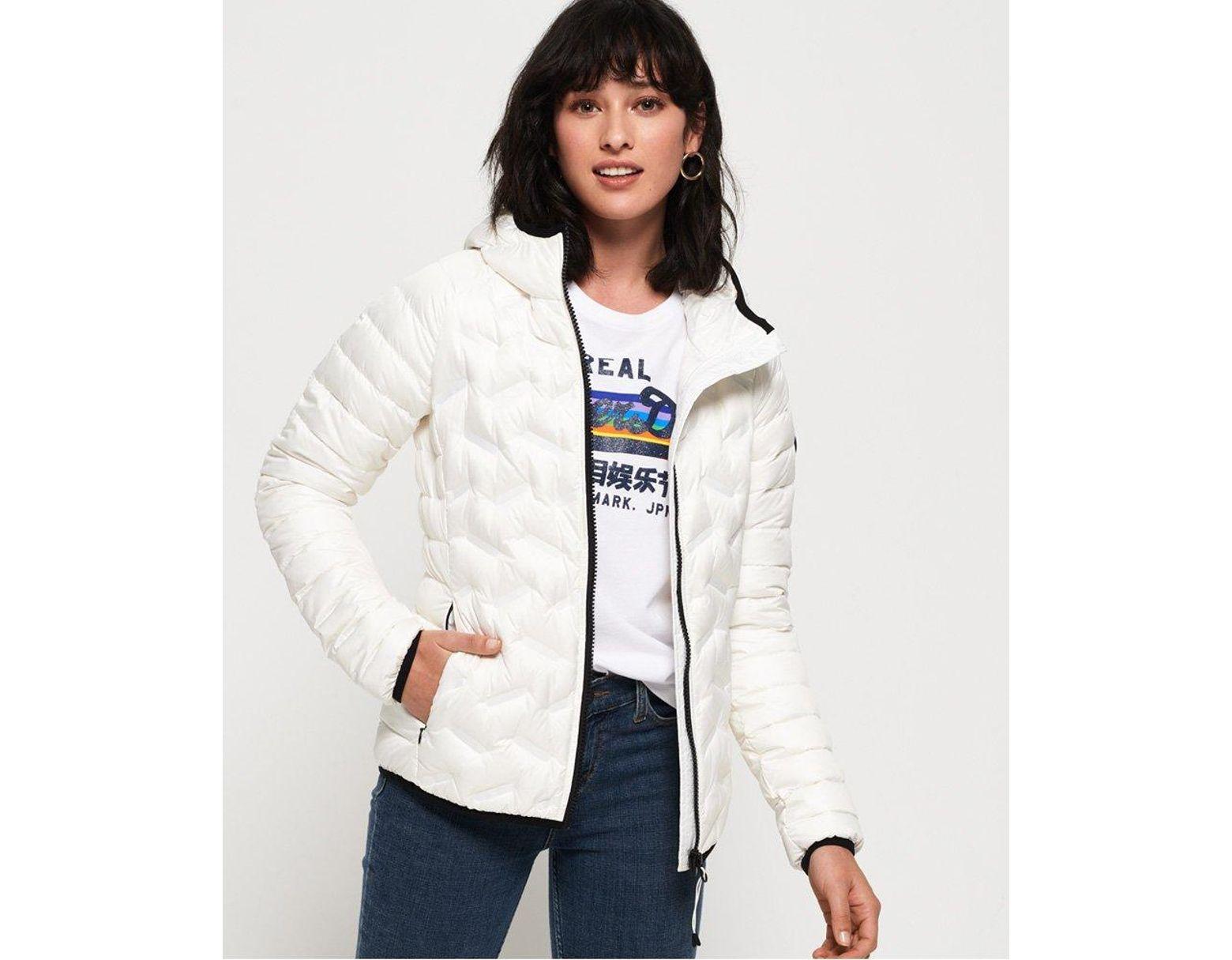 45edd399a Women's White Radar Down Jacket