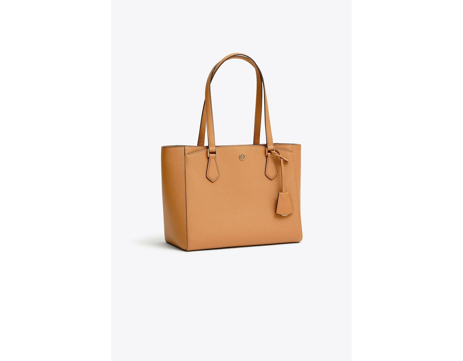 749936ed2 Tory Burch Robinson Small Leather Tote - Lyst