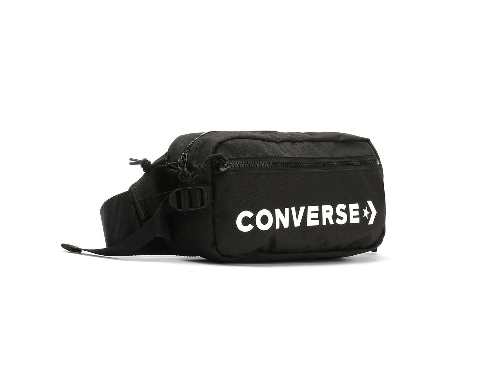 d5d0a9e156 Converse Black / White Fast Pack Sling Bag in Black for Men - Lyst