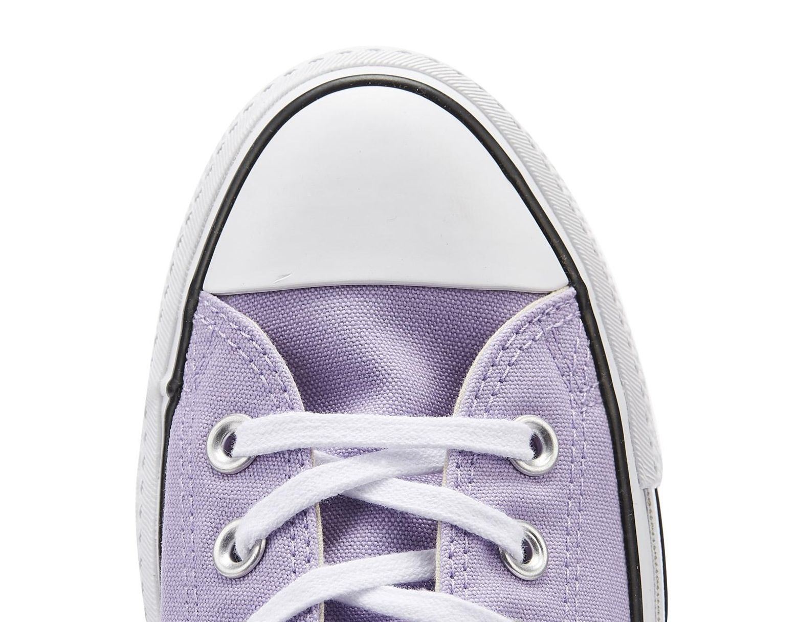 7cfb291d2 Converse Chuck Taylor All Star Lift Womens Washed Lilac Ox Trainers in  Purple - Lyst