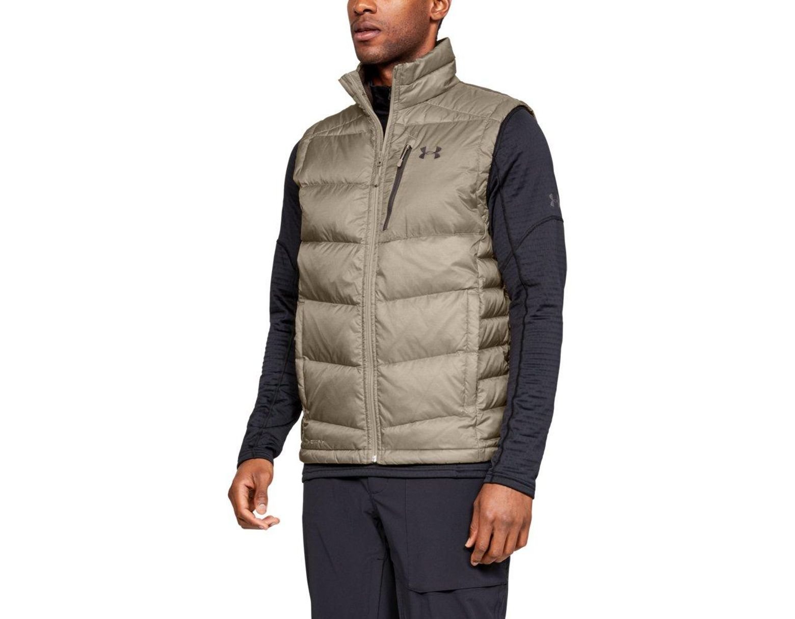 9552aceaf09b0 Under Armour Outerbound Down Vest for Men - Save 1% - Lyst