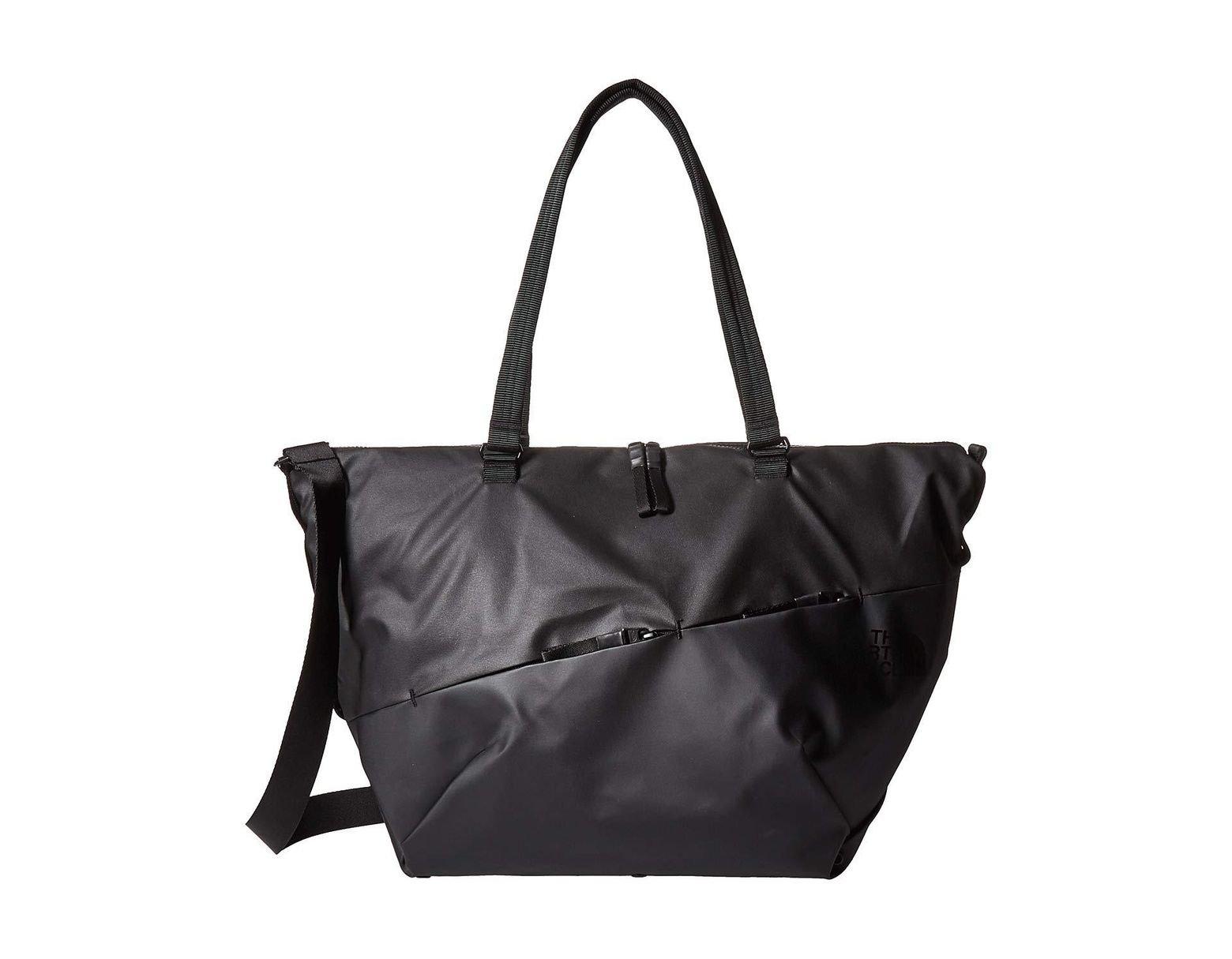 f1716875edfee The North Face Electra Tote Se - Large (rabbit Grey rabbit Grey Copper  Melange) Tote Handbags in Black - Lyst