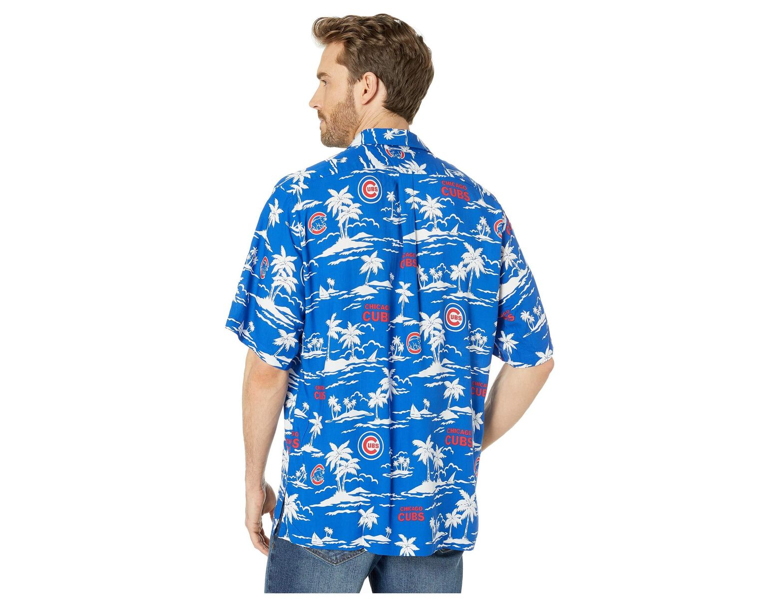 7f8c6cdd4 Reyn Spooner Chicago Cubs Vintage Rayon Shirt (blue) Men's Clothing in Blue  for Men - Lyst