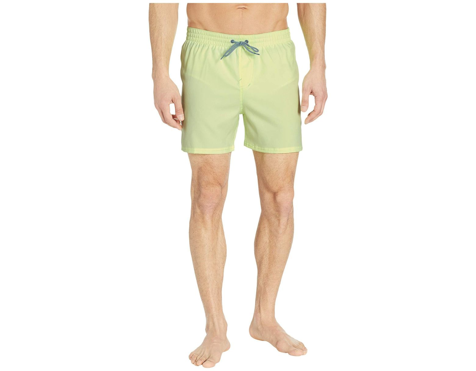ab1ebc81 Nike 5 Solid Vital Volley Shorts in Yellow for Men - Lyst