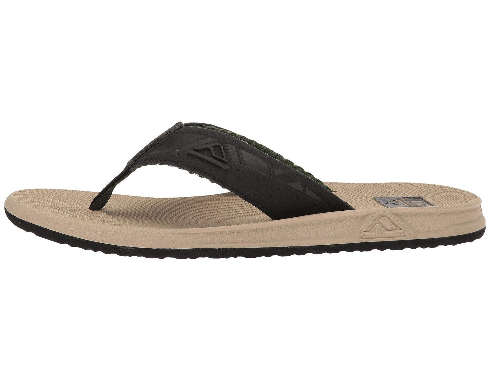 0a0eb9a499cf3 Reef Phantoms (black/tan 2) Men's Sandals in Black for Men - Lyst
