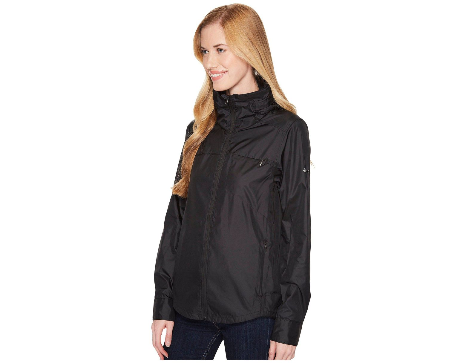 1878f6a56 Columbia Sustina Springs Windbreaker in Black - Save 24% - Lyst