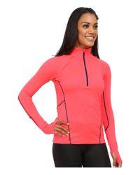 Marmot - Pink Interval Half-zip Long Sleeve - Lyst