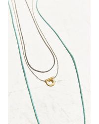 Urban Outfitters - Metallic Seattle Necklace Set - Lyst