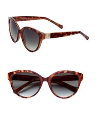 Vince Camuto | Brown 51mm Cat Eye Sunglasses | Lyst