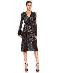 Calvin Rucker | Black Show Me Love Merino-blend Dress | Lyst