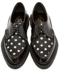 Adieu | Black Type 51 Leather Derby Shoes | Lyst