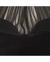 Alexander McQueen - Black Harness Pencil Dress - Lyst
