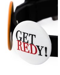 RED Valentino - Black Pin Detail Adjustable Bracelet - Lyst