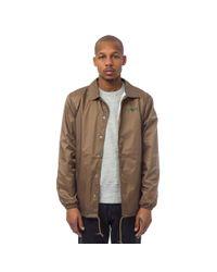 X-Large - Multicolor Coach's Jacket In Khaki for Men - Lyst