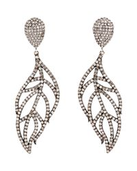 Carole Shashona | Metallic Angel Wing Earrings | Lyst