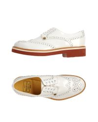 Paciotti 308 Madison Nyc - White Lace-up Shoes - Lyst