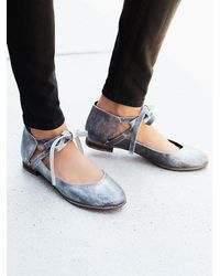 Free People - Metallic Atlas Flat - Lyst