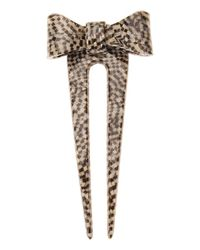 France Luxe - Metallic Adore A Bow Pic - Classic - Lyst