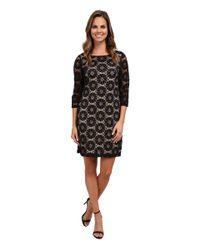 RSVP - Black Sunshine A-line Woven Lace Dress - Lyst