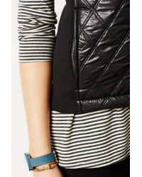 Anthropologie | Black Quilted Puffer Vest | Lyst