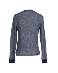 Obvious Basic - Blue Sweatshirt for Men - Lyst