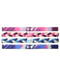 Under Armour | Multicolor Ua Graphic Elastic Headband 4-pack (youth) | Lyst