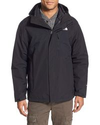 The North Face | Black 'carto' Triclimate Waterproof 3-in-1 Jacket for Men | Lyst