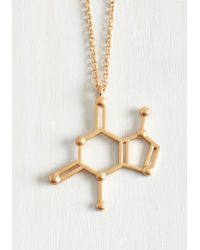 Reign Designs | Gray Structural Sweetness Necklace | Lyst