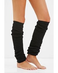 Forever 21 | Black Waffle Knit Leg Warmers | Lyst