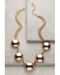 Gerard Yosca | Pink Gilded Orbit Bib Necklace | Lyst