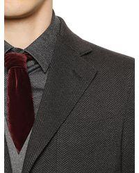 Giorgio Armani - Red 7cm Viscose & Silk Velvet Tie for Men - Lyst