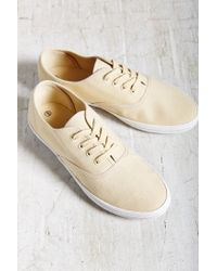 Urban Outfitters - Natural Canvas Lace-up Sneaker - Lyst